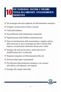 Un programma per l 39 italia per la crescita per la for Numero parlamentari italia