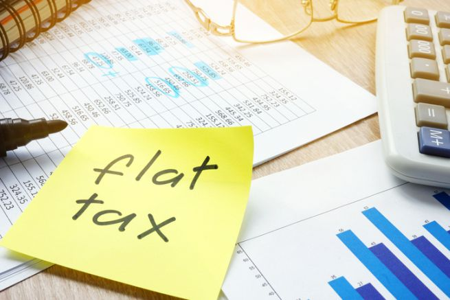 flat tax economia Bernini