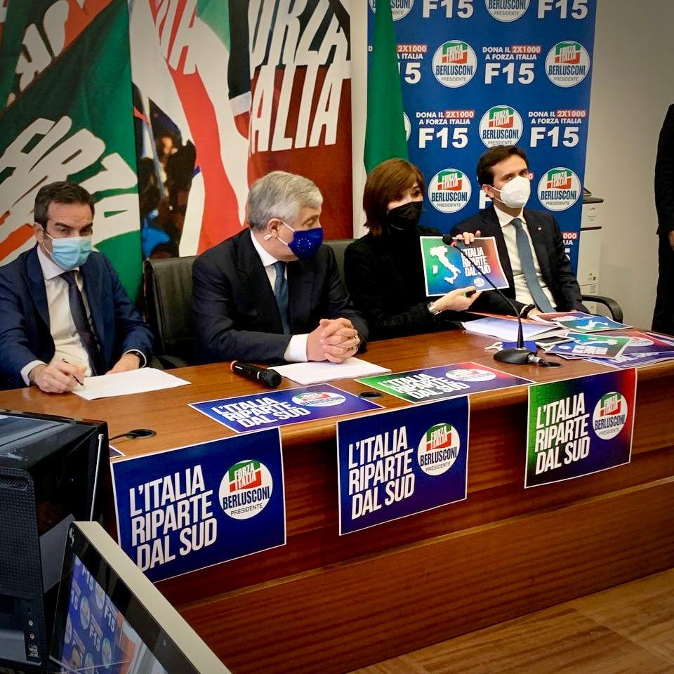 L'Italia riparta dal Sud: con FI una svolta da assistenzialismo a sviluppo